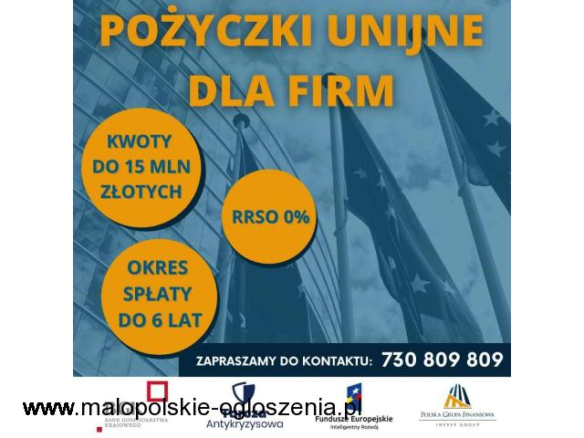 Pożyczki Unijne Dla Firm